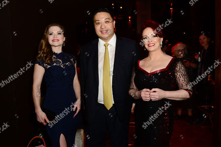 Clare Halse, Dr Johnny Hon and Sheena Easton