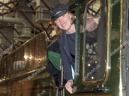 Heritage and Tourism Minister Tracey Crouch on a visit to the STEAM Museum in Swindon