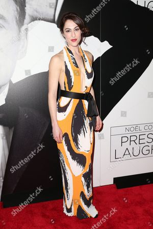 Editorial photo of 'Present Laughter' Broadway play opening night, Arrivals, New York, USA - 05 Apr 2017