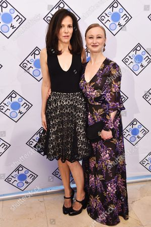 Mary-Louise Parker and Allyson Crawford