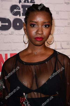 Editorial picture of 'The Get Down' Season One Part Two Kickoff Party, Arrivals, New York, USA - 05 Apr 2017