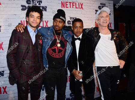 Editorial image of 'The Get Down' Season One Part Two Kickoff Party, Arrivals, New York, USA - 05 Apr 2017