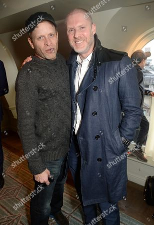 Stock Image of Jamie Wood and Jean-David Malat