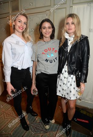 Stock Image of Emilia Reid, Sophie Hopkins and Kara Rose Marshall