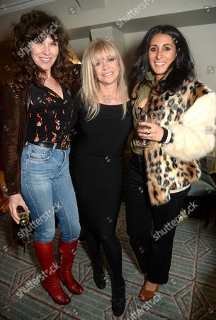 Stock Photo of Jess Morris, Jo Wood and Serena Rees