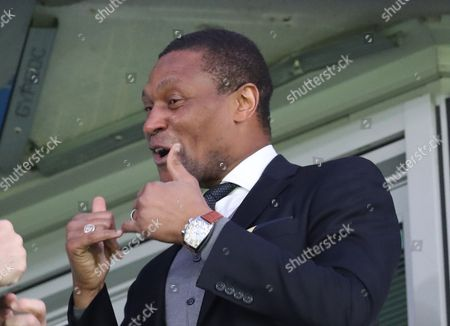 Chelsea Technical director Michael Emenalo during the Premier League match between Chelsea and  Manchester City  played at Stamford Bridge, London, on 5th April 2017