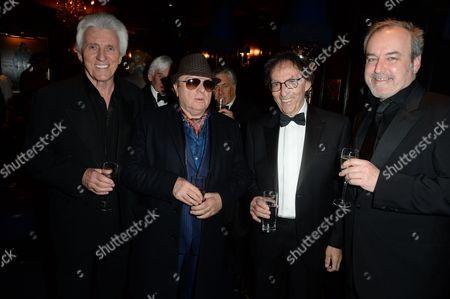Bruce Welch, Van Morrison, Don Black and David Arnold