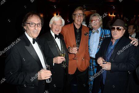 Don Black, Bill Martin, Marty Wilde, Gary Osborne and Van Morrison