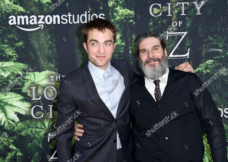Stock Picture of Robert Pattinson and Anthony Katagas