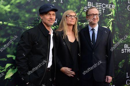 Brad Pitt, Alexandra Dickson and James Gray