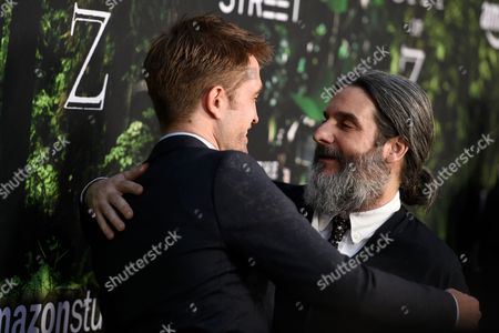 Robert Pattinson and Anthony Katagas