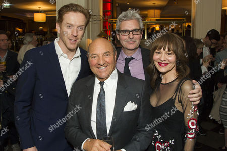 Stock Photo of Damian Lewis (Martin), Arnold Crook, Matthew Byam Shaw (Producer) and Helen McCrory