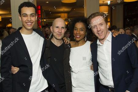 Archie Madekwe (Billy), Ian Rickson (Director), Sophie Okonedo (Stevie) and Damian Lewis (Martin)