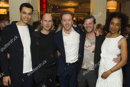 Archie Madekwe (Billy), Ian Rickson (Director), Sophie Okonedo (Stevie), Jason Hughes (Ross) and Damian Lewis (Martin)