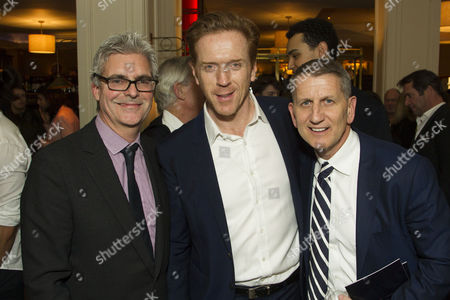 Matthew Byam Shaw (Producer), Damian Lewis (Martin) and Tom Kirdahy (Producer)