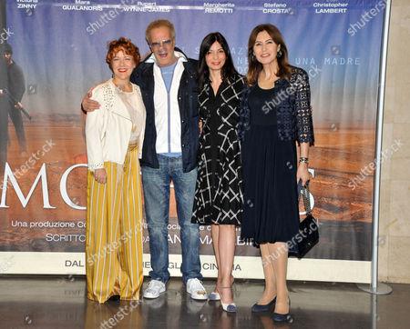 Stock Image of Mara Gualandris, Christopher Lambert, Margherita Remotti, Maria Pia Ruspoli