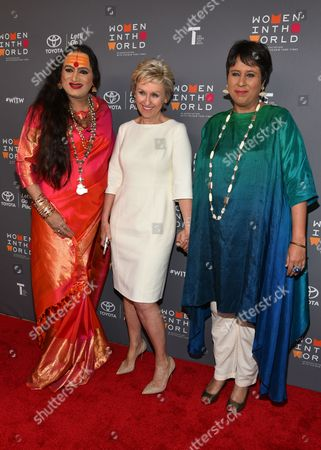 Laxmi Narayan Tripathi, Tina Brown, Barkha Dutt