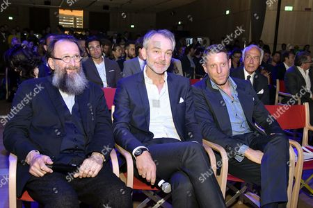 Michele De Lucchi, Adrian Van Hooydonk Lapo Elkann