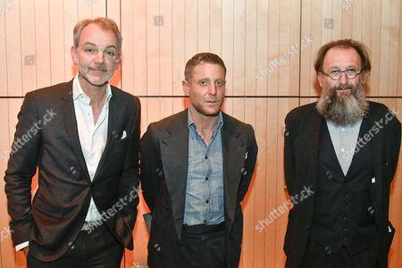 Adrian Van Hooydonk, Lapo Elkann, Michele De Lucchi