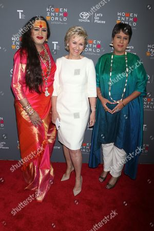 Editorial picture of Women in the World Summit, New York, USA - 05 Apr 2017