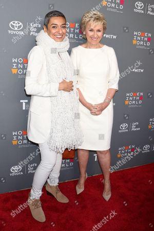 Zainab Salbi and Tina Brown