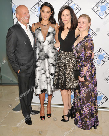 Bruce Willis, Emma Heming, Mary-Louise Parker and Allyson Crawford