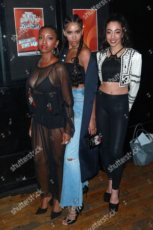 Editorial photo of 'The Get Down' Season One Part Two Kickoff Party, Arrivals, New York, USA - 05 Apr 2017