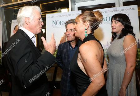 Richard Gere, Amanda Marshall, Miranda Bailey, Eyal Rimmon (producers)