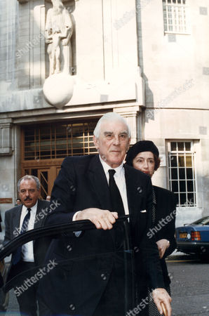 Marmaduke Hussey BBC Chairman (now BARON HUSSEY Of North Bradley In the County of Wiltshire, Life Peer)