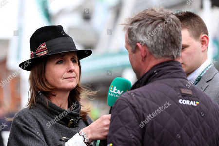 itv racing correspondents Alice Plunkett during day one of the Randox Health Grand National festival held at Aintree, Liverpool on 6th April, 2017