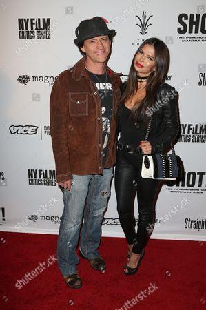 Clifton Collins Jr. and Megan Ozurovich