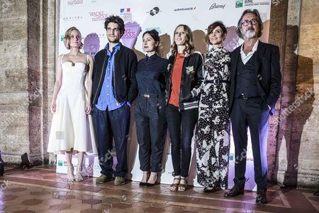 Diane Kruger, Louis Garrel, Rebecca Zlotowski, Mia Hansen-Love, Clotilde Courau, Martin Provost