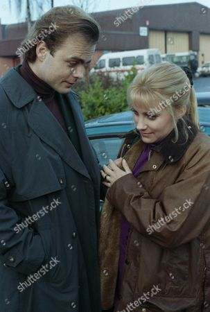 After Chris' accident, Kathy and Josh realise now they can't go off together now - with Kathy Tate, as played by Malandra Burrows and Josh, as played by Peter Warnock. (Ep 1834 - 13th January 1994).