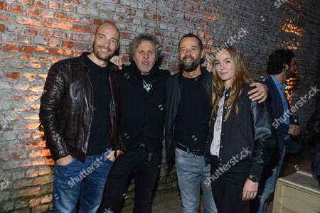 Andrea Pezzi, Renzo Rosso, Fabio Volo, Johanna Hauksdottir
