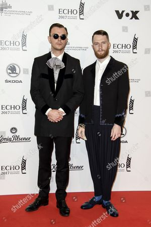 Theo Hutchcraft and Adam Anderson