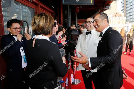 Editorial picture of British Academy Games Awards, Roaming Arrivals, London, UK - 06 Apr 2017