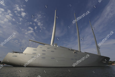 Scandal aroand Yacht A of russian billionaire Andrey Melnichenko Andrei Igorewitsch Melnitschenko. Police foand illegal used tropical wood on the sailing yacht.