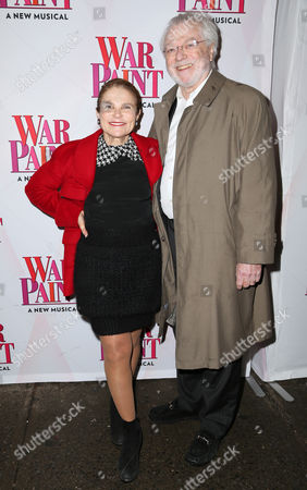 Editorial image of 'War Paint' Broadway play opening night, Arrivals, New York, USA - 06 Apr 2017