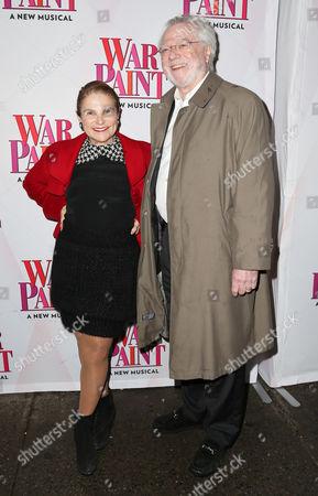 Stock Photo of Tovah Feldshuh and Andrew Levy