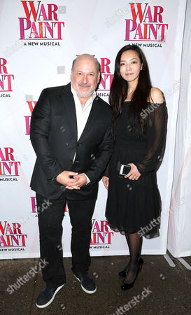 Editorial picture of 'War Paint' Broadway play opening night, Arrivals, New York, USA - 06 Apr 2017