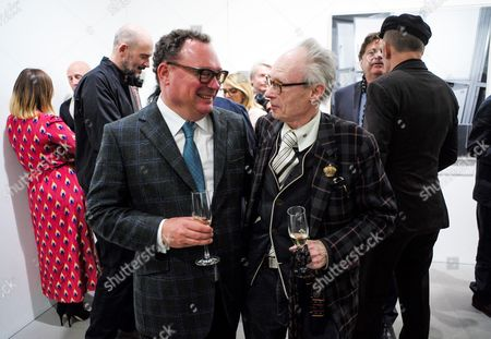 Editorial picture of The Centrifugal Soul Private View by Mat Collishaw, London, UK - 06 Apr 2017