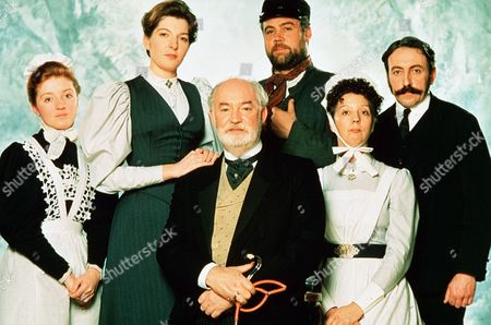 'Bramwell'   TV  L-R Keeley Gainey as Kate Jemma Redgrave as Eleanor Bramwell  David Calder as Robert Bramwell Cliff Parisi as Daniel Bentley Ruth Sheen as Nurse Carr Kevin Mcmonagle as Joe Marsham