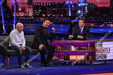 Stock Picture of Dave Johns, Bradley Walsh & Russell Watson