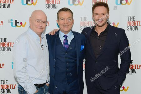 Dave Johns, Bradley Walsh & Russell Watson