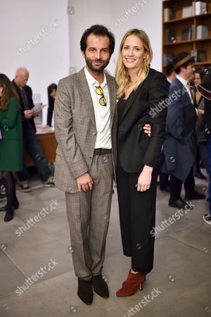 Edoardo Francia and Sophie Oakley