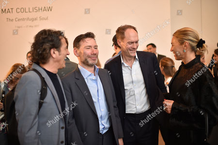 Stephen Webster, Matt Collishaw, Harry Blain and Assia Webster