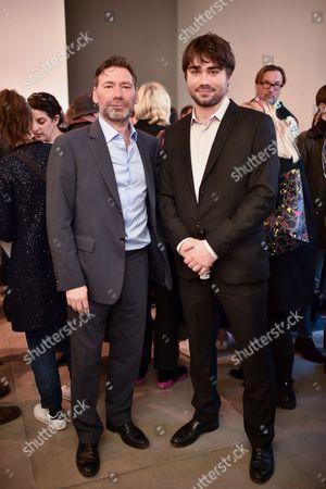 Matt Collishaw and his son Alex Collishaw