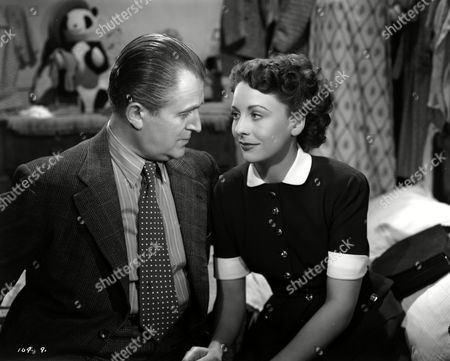 Stock Picture of 'Here Come the Huggetts' - Jack Warner and Jane Hylton