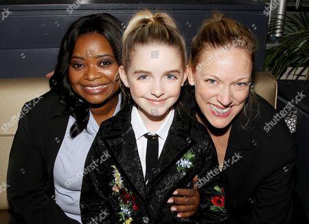 Stock Photo of Octavia Spencer, Mckenna Grace, Karen Lunder