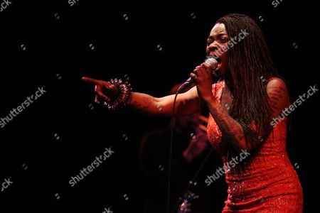 Editorial picture of Spanish singer Concha Buika in concert in Guadalajara, Mexico - 06 Apr 2017
